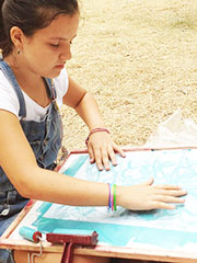Touch Drawing at the UNESCO Summer Youth Academy in Romania