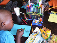 World Genesis Foundation Sponsors Art Program at Camp Bambanani in South Africa