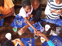 Arts and Crafts Program for Youth in South Africa Sponsored by the World Genesis Foundation