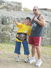 USKBA and World Champion Kickboxer Dan Lucas Partners with World Genesis Foundation for 2007 UNESCO Program