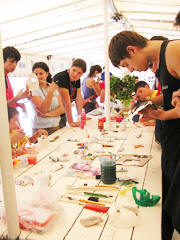 World Genesis Foundation Sponsors Expansion of Art Projects at 2007 UNESCO Youth Program